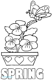 Spring Coloring Pages Fresh Free Coloring Pages Spring Season Az