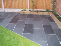 45 slate patio tiles black and grey slate paving patio garden tiles not slab timaylenphotography com
