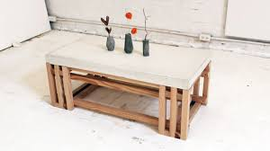 ... Coffee Table, Excellent White And Brown Rectangle French Country  Laminated Wood And Wood Cement Coffee ...