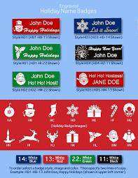 Holiday Name Arthur Farb Holiday Name Badges