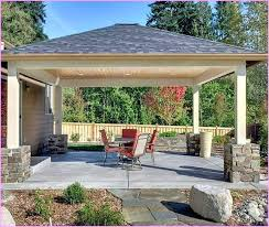 patio cover design popular of free standing ideas idea home plans designs roof