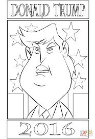Donald Trump 2016 Kleurplaat Gratis Kleurplaten Printen