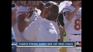 Charlie Strong Becomes Usf Bulls 4th Head Football Coach
