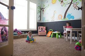 dining room turned playroom. who needs a formal dining room turned playroom