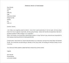 Recommendation Letter For A Friend Template Personal Reference Letter Template Sample College