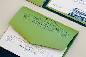 elegant washington dc inspired invitations united with love Wedding Invitation Blue And Green blue green monogram washington dc wedding invitation envelope wedding invitation blue green motif
