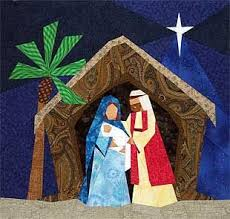 O Holy Night Paper-Pieced Quilt Pattern at paperpanache.com ... & O Holy Night Paper-Pieced Quilt Pattern at paperpanache.com Adamdwight.com
