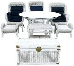 White Wicker Furniture Set Image 0 White Wicker Bedroom Furniture ...