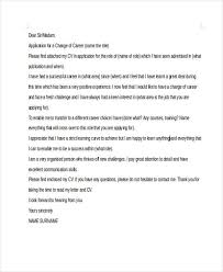 change of career cover letter example 6 career change cover letter free sample example format download