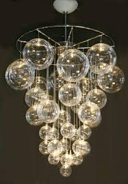 light amazing glass ball chandelier best images about on glasses decorative objects and vineyard wedding chrome