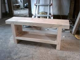 bench with shelf. Heavy Bench With Shelf