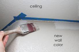 now you don t have to let the wall paint dry before pulling off the tape in fact it s better if you don t because when it dries the tape becomes a bit