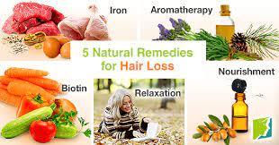 5 natural remes for hair loss