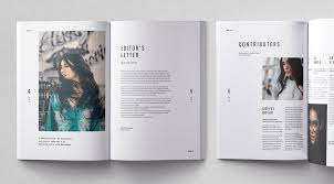 Indesign Magazine Cult Adobe Indesign Magazine Template