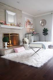 uncategorized sheepskin rug bedroom battilo fluffy faux fur chair cover seat pad home winning for