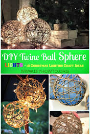 large size of diy twine sphere ball lights instruction lights ideas crafts diy outdoor lighting
