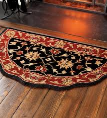 flame resistant hearth rugs scalloped wool hearth rug hearth rugs fireplace hearth rugs fire