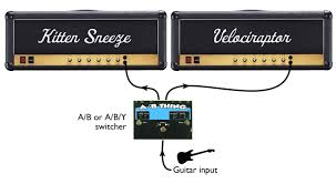 multi amp rigs 101 seymour duncan kitten sneeze and velociraptor just a foot stomp away
