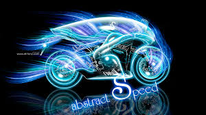 moto super abstract speed