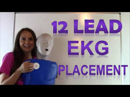 Ekg Lead Placement Chart Ecg Placement Of Electrodes For 12 Lead Placement Ecg Lead Tutorial