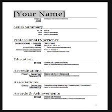 how to create resume in microsoft word make resume cover letter resume templates for microsoft word 2007