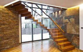 Faltwerk glass  design staircase ...