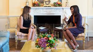 barak obama oval office golds. Melania Trump, Michelle Obama Sit Down For Tea In The White House - CNNPolitics Barak Oval Office Golds
