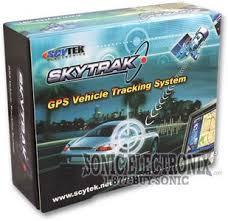 scytek skytrak commercial application gps vehicle tracking system product scytek skytrack skytrak