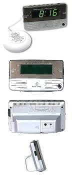 loud dual alarm clock digital clocks and clock radios sonic alert loud dual alarm clock with