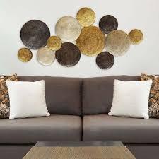 stratton home decor multi circles metal