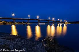 minardi lighting. island bridge at night 2016 minardi lighting