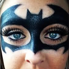 batman dummy proof halloween makeup ideas