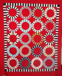 single wedding ring | Tim Latimer - Quilts etc & finished rings 004 Adamdwight.com