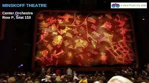 The Lion King Seating Guide Minskoff Theatre Seating Chart