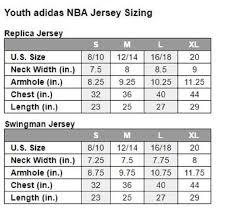 Adidas Basketball Jersey Size Chart Kasa Immo