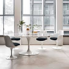 Genuine Eero Saarinen Oval Dining Table 198cm By Knoll Aram