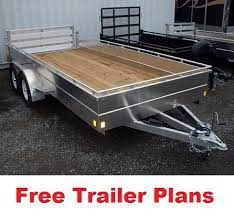free trailer plans