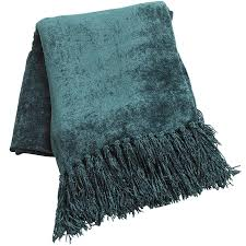 spruce chenille throw  pier  imports