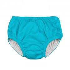 Iplay Snap Reusable Absorbent Swim Diaper Aqua Pupsik