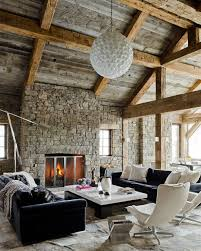 Rustic Decor Living Room Rustic Rooms Exquisite Rustic Bedroom With Stone Wall Has A