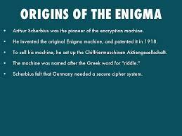 the enigma machine by michaelmatirko origins of the enigma
