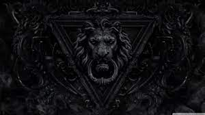 Dark Gothic Lion Ultra HD Desktop ...