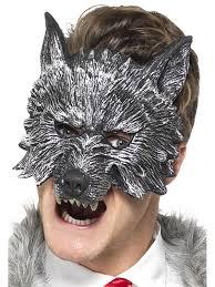 Maska Vlkodlak Na Půlku Obličeje