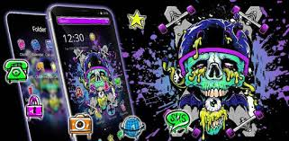 Graffiti <b>Skateboard Skull</b> Theme - التطبيقات على Google Play