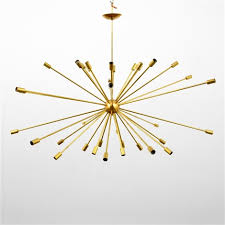 large sputnik chandelier manner of gino sarfatti by gino sarfatti