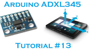 arduino 13 3 axis accelerometer adxl 345 i2c robots view larger image