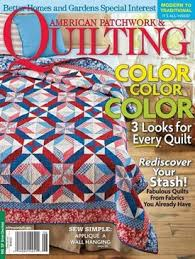 Best Quilting Magazines - American Patchwork & Quilting, McCall's ... & Quilting Magazines Adamdwight.com