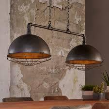 Industriële Hanglamp Glenn Met 2 Kappen Van ø40 Cm Meubelpartner