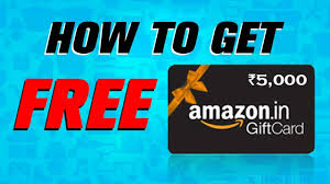 amazon gift card how to get free