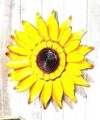 sunflower wall decor contemporary sunflower wall art sunflower metal wall art sunflower wall decor the homestead sunflower wall decor